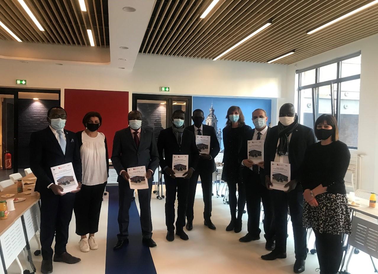 Les auditeurs du Cycle International mis à l'honneur à l'occasion de leur départ